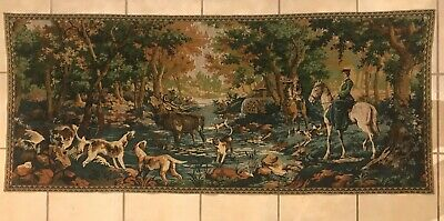 Horse Tapestry Landscape Rural Scene Print Wall Hanging Decor