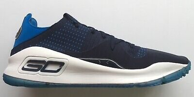 H CURRY 4 SHOE GOLDEN STATE WARRIORS SNEAKERS NAVY BLUE (Navy Und Gold)