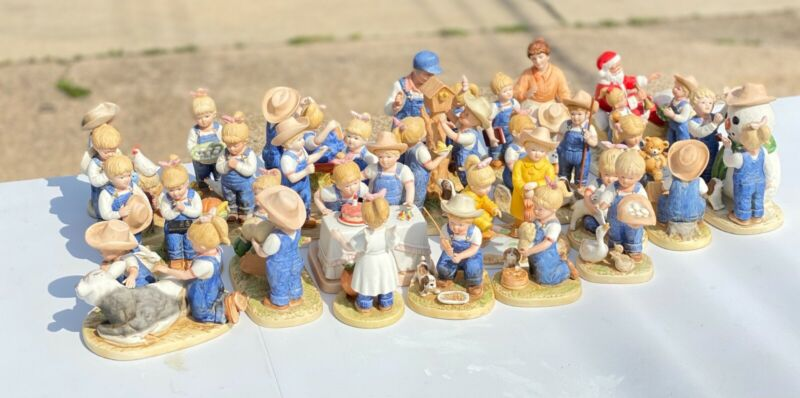 """""""Denim Days"""" Figurines by HOMCO Home Interiors & Gifts, Inc, You Choose!"""