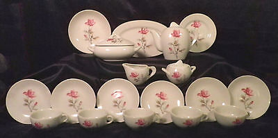 Vintage Early 1920's Moss Rose 27 Piece Childs Tea & Dinnerware Set on Rummage