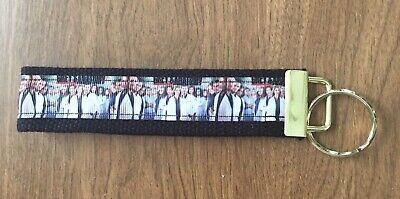 Grays Anatomy Wristlet Key Fob Zipper Pull Key Chain Fob Zipper Pull