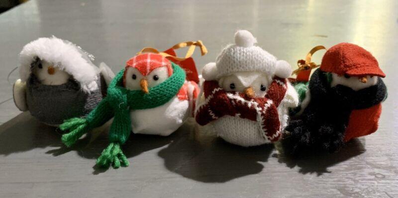 Target Wondershop GATHER Bird Ornaments Set 2018 - Felt Fabric Christmas Holiday