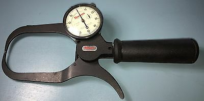 Starrett No.1017-4 Outside Dial Caliper Gage 4 Inch Throat Depth .001 Grads