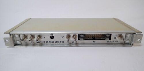 IFR FM/AM-1200S COMMUNICATIONS SERVICE MONITOR ANALYZER RF 7005-5142-501