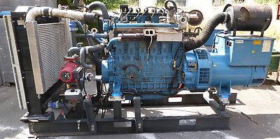 Doosan Pu126 Diesel Motor 6 Cylinder Marinediesel 300 Kw Bhkw Leroy Lsa Agrogen