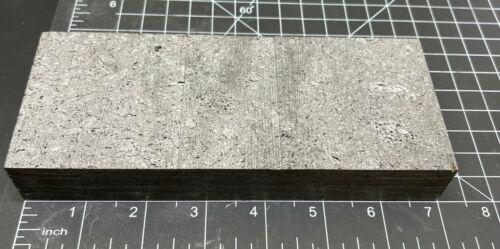 """Coarse Grain Graphite Block Approximately 1"""" x 2.875"""" x 7"""""""