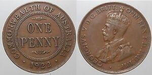 GB - 1 Penny 1922-Australia-  mostra il titolo originale - Italia - GB - 1 Penny 1922-Australia-  mostra il titolo originale - Italia