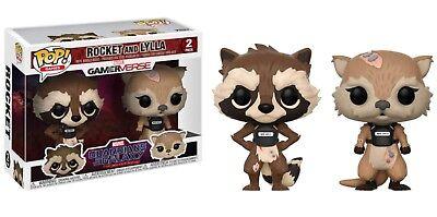 Funko POP! Marvel: Guardianes de la Galaxia: Rocket y Lylla
