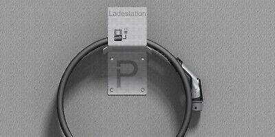 Wallbox Wandhalterung Typ 2 Stecker Ladekabel Ladestation VA2 E-Auto Kabelhalter