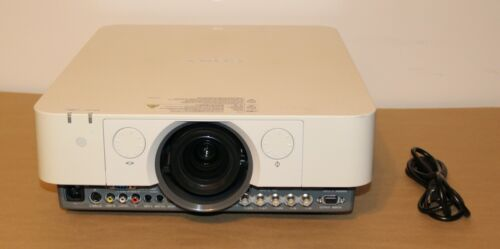 White Sony VPL-FHZ55 Laser Projector.Hours left on Projectors 15,866 to 16,053