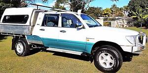 TOYOTA LANDCRUISER 105 SERIES STRETCHED  LOTS OF EXTRA GOOD COND Ningi Caboolture Area Preview