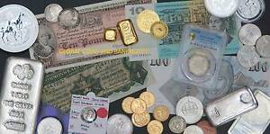 BUYING all COINS Banknotes,Gold, Silver,Stamps, War Medals Clayfield Brisbane North East Preview