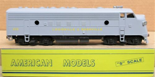 American Models Undecorated FP-7 A Unit Diesel Engine S-Scale AC Hi-Rail LN