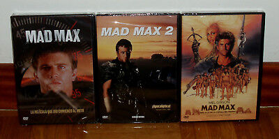 TRILOGIA MAD MAX COLECCIÓN COMPLETA 3 DVD PRECINTADO NUEVO ACCIÓN (SIN ABRIR) R2 comprar usado  Enviando para Brazil