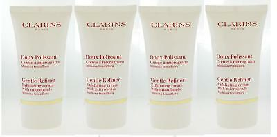 Clarins Gentle Refiner Exfoliating Cream with Microbeads TravelSize 15ml x4=60ml
