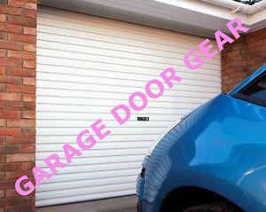 GLIDEROL Roller Garage Door - 7ft wide x 7ft high (White)