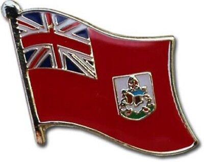 Wholesale Pack of 50 Bermuda Country Flag Bike Hat Cap lapel Pin