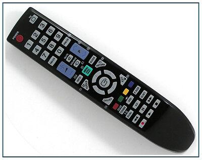 ERSATZ FERNBEDIENUNG F R SAMSUNG TV LE40M554M2W LE46B530P7W LE46B530P7W XAB