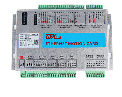 3 Axis 2000khz Ethernet Control Card Breakout Board Mach3 Lan Network Engraving
