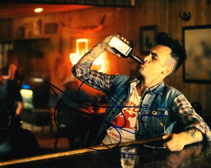 JOSEPH GILGUN SIGNED 8X10 PHOTO AUTHENTIC AUTOGRAPH AMC PREACHER  CASSIDY COA A