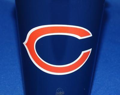 NFL Chicago Bears 16 Ounce Infinity Plastic Travel Tailgate Coffee Cup - Chicago Bears Nfl Tumbler