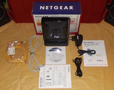 NETGEAR DGND3800B N600 Wireless 2.4+5 GHz Dual Band Modemrouter ADSL2+ VDSL DLNA ()