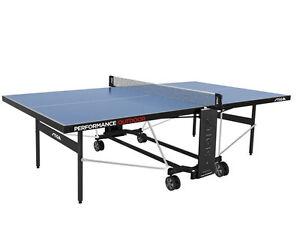 Stiga Tischtennisplatte Performance Outdoor Blau mit Netz wetterfest