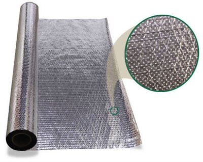 2000 Sqft Diamond Radiant Barrier Solar Attic Foil Reflective Insulation 2 Rolls