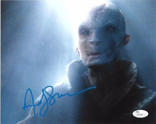 Andy Serkis Star Wars Autographed Signed 8x10 Photo JSA COA #S6