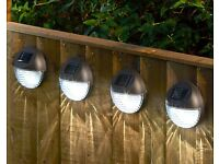 fence lights