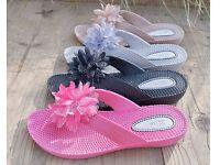 Ladies Sandals Fuschia
