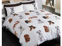 Kingsize Dogs Duvet Set