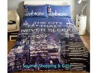 New York Duvet Sets - NEW