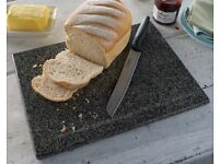 Solid Granite Kitchen Set (chopping board, pestle and mortar and trivet)