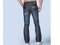 """Crosshatch darkwash Jeans 30"""" waste"""