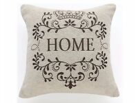 BRAND NEW Natural Home Chenille Cushion