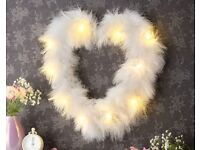 Led Feather Heart brand new