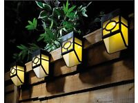 Fence Lights Pack of 4