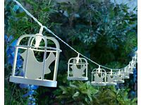 Bird Cage Solar String Lights