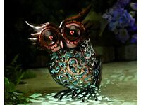 BRAND NEW Free Standing Solar Owl
