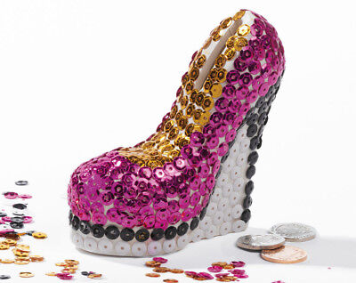 Make Your Own Stiletto Coin Bank Creative Toys Fun Girls Children's Activities