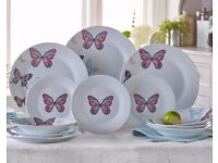 butter fly plates