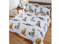 BEAUTIFUL CAT BEDDING SET