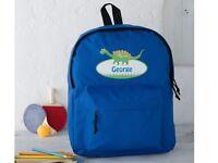 Kids Personalised Backpack / Lunch Bag