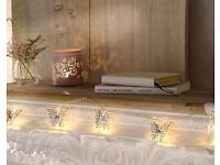 10 LED Butterfly Lights/ Home Decorations