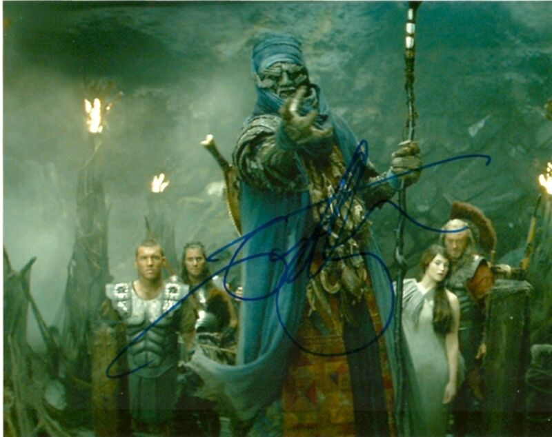 Clash of the Titans Ian Whyte Autographed Signed 8x10 Photo COA