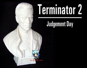 Movie-Terminator-Arnold-bust-1-2-5-Figure-Vinyl-Model-Kit-16inch