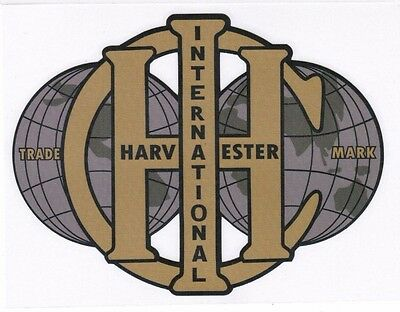 International Harvester Mccormic-deering M Hit Miss Gas Engine Motor Decal