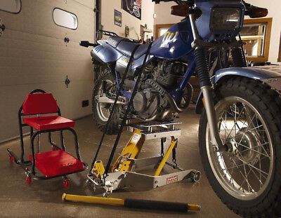 Used, NEW! Craftsman Jack Motorcycle & ATV 1500 lb Lift Hoist Repair Bike Tire Garage for sale  Fort Lauderdale