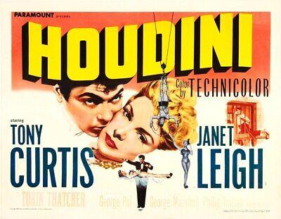 houdini 1953 biography/drama tony curtis dvd